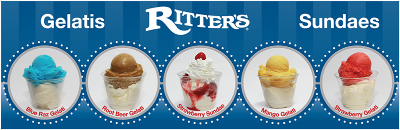 Ritter's Ice Cream Flavors
